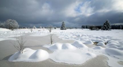 Winter op de Hoge Venen